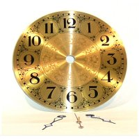 "5"" Brass Clock Face"