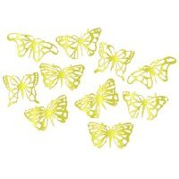 Brass Filigree Mini Butterfly Wings - Set B