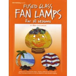FUSED GLASS FAN LAMPS FOR ALL SEASONS