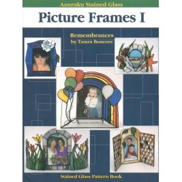AANRAKU STAINED GLASS - PICTURE FRAMES I by Tamra Boncore