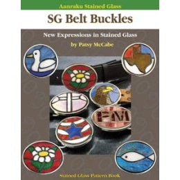 AANRAKU STAINED GLASS: STAINED GLASS BELT BUCKLES VOL. I by McCa