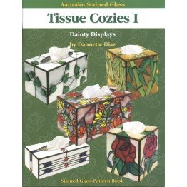 AANRAKU STAINED GLASS: TISSUE COZIES VOL. 1 by Dannette Diaz