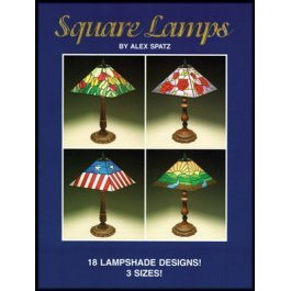 SQUARE LAMPS by Alex Spatz