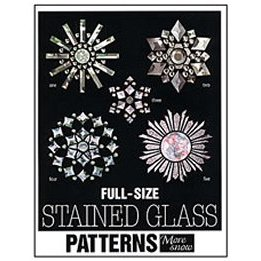 FULL SIZE STAINED GLASS PATTERNS: MORE SNOW by Sunlight Studios