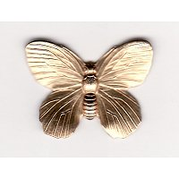 Butterfly Brass Stamping / Medium