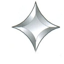 "Star Bevel / Shape A / 5"" x 5"" - 3 left"