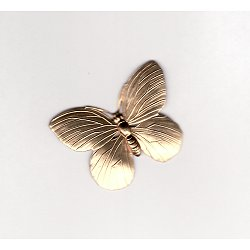 Butterfly Brass Stamping / Large