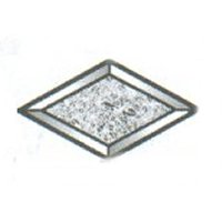 "Glue Chip Diamond Bevel / 4"" x 7"""
