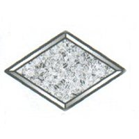 "Glue Chip Diamond Bevel / 6"" x 9"""