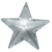 28mm Clear Star / 1 left