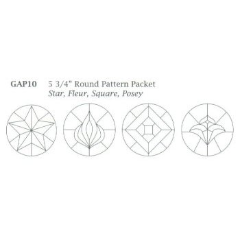 "Round 5 3/4"" Pattern Packet"
