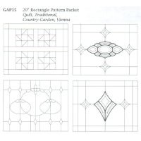 "20"" Rectangle Pattern Packet"