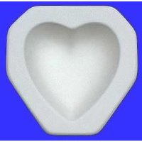 Colour De Verre Heart Mold