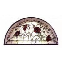 Arch Rose Transom A