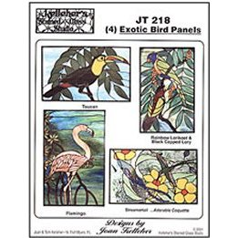 Exotic Bird Panel Patterns