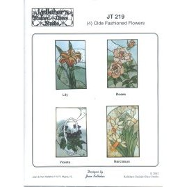 Olde Fashioned Flowers Panel Patterns