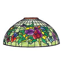 "Worden 16"" Pansy T Lamp Pattern"