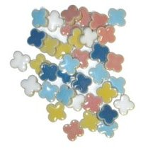 Assorted Flower Shaped Tiles