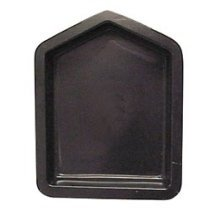 "House Shape Border Stone Mold / 6"" Form"