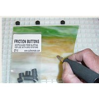 FRICTION BUTTONS / 8 per pkg.