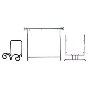 WROUGHT IRON Mesmerizing Wrought Iron Display Stands